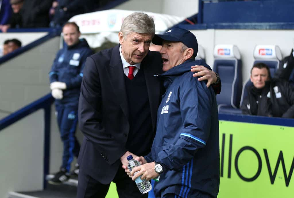 Wenger and Pulis
