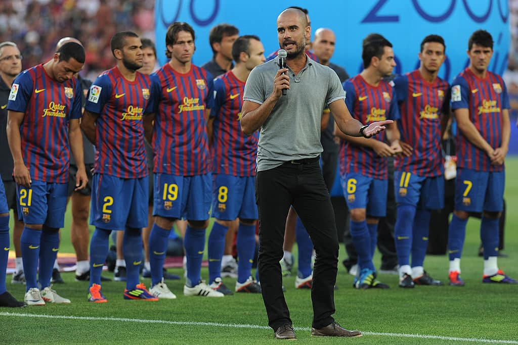Pep Guardiola at Barcelona