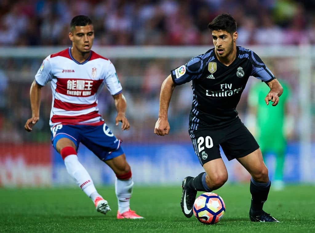 Andreas Pereira and Marco Asensio