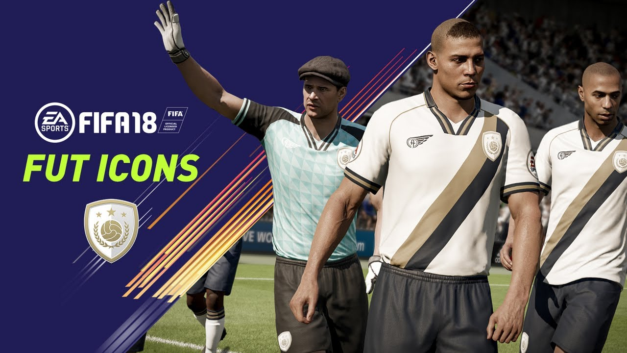 ea sports reveal new fut icons for fifa 18 including