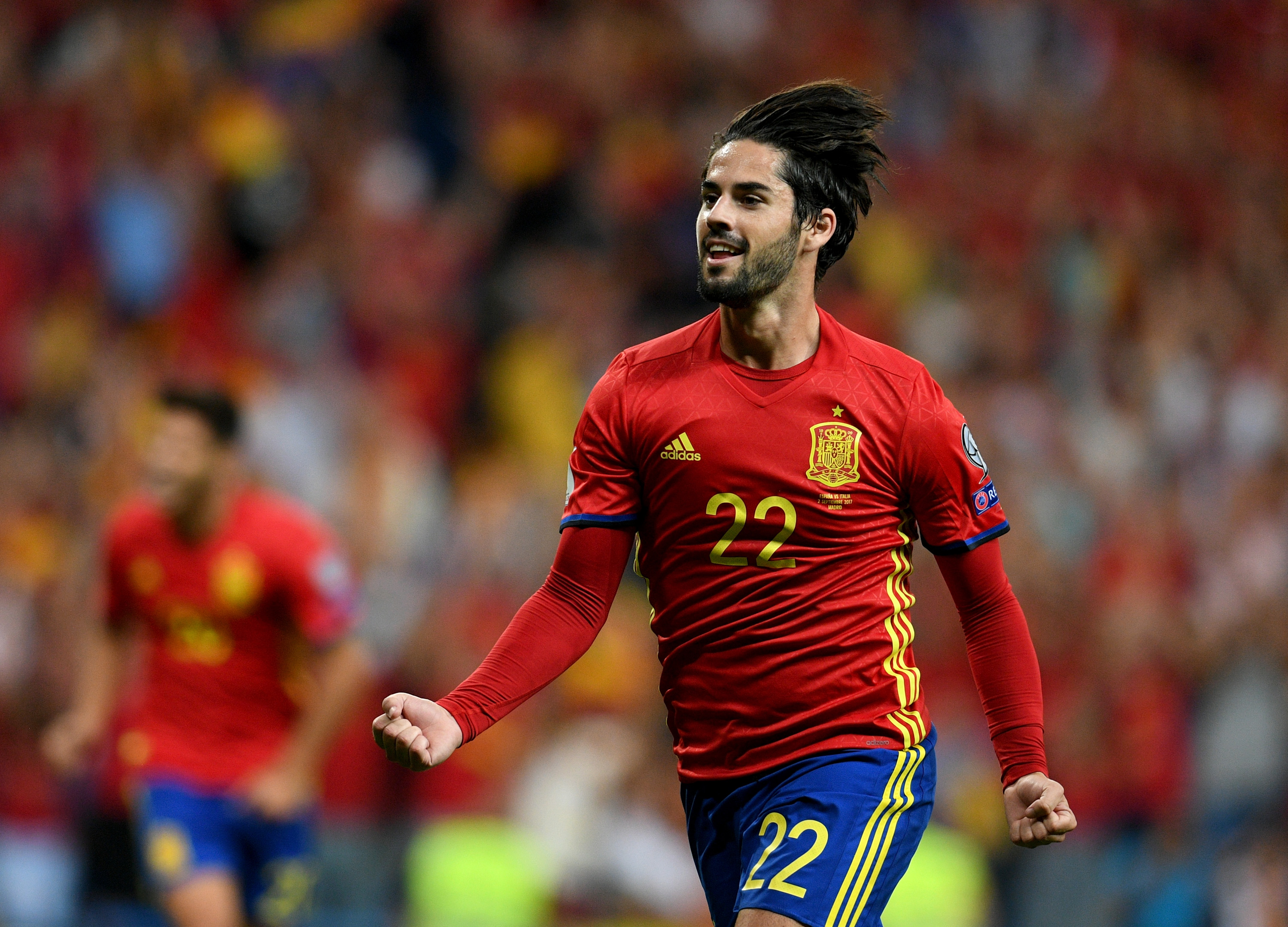 World Cup 2018 Qualifiers Spain Vs Italy