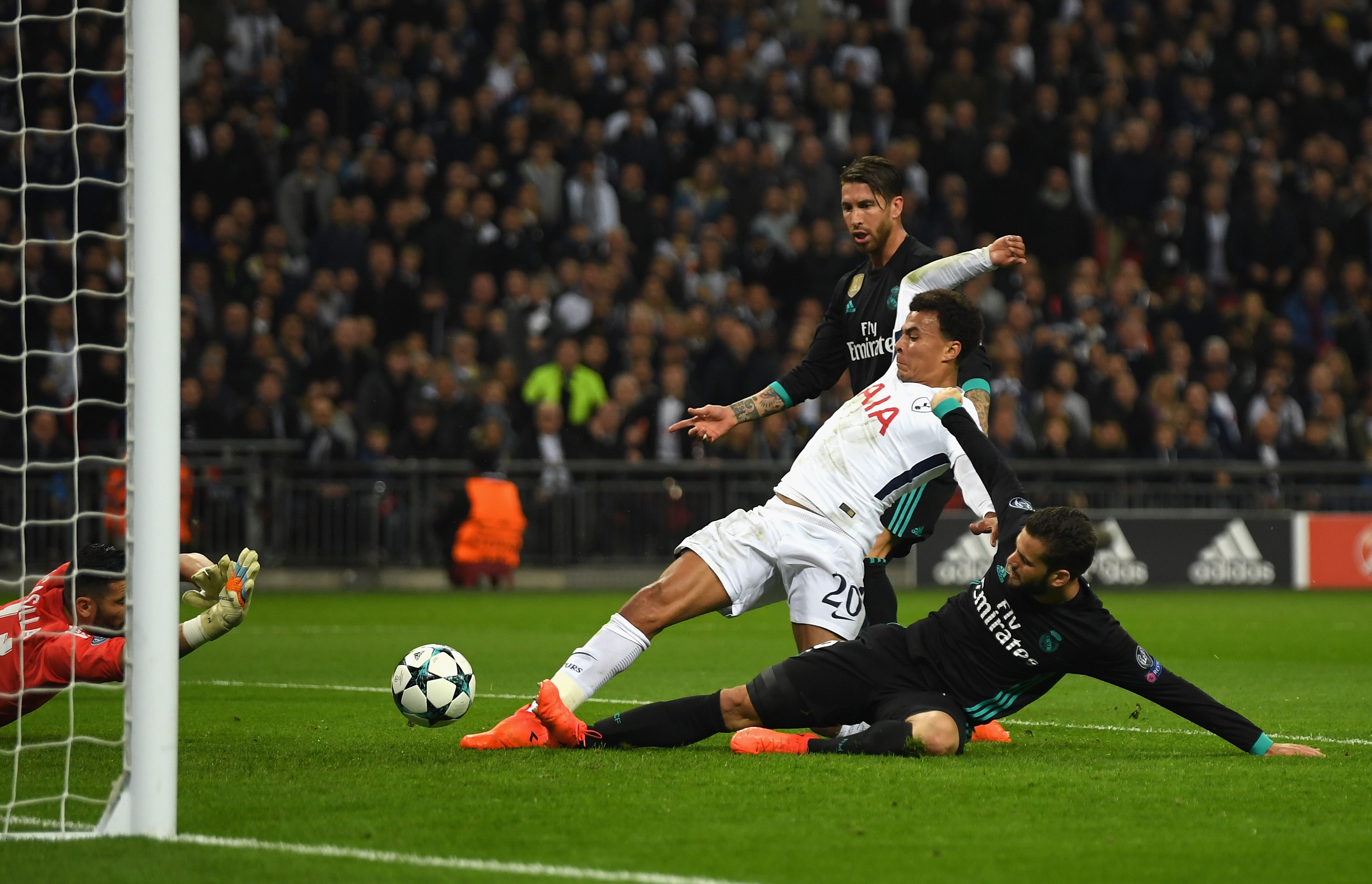 Tottenham: Real Madrid Fans Rage As Offside Questions Raised Over