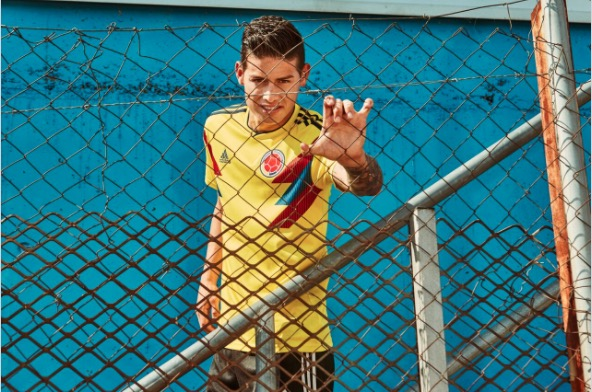 Colombia's 2018 World Cup kit