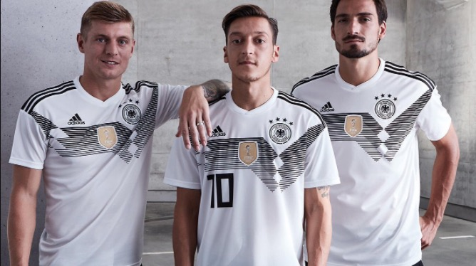 finest selection 7f5ff 67348 Adidas World Cup 2018 kits : Argentina, Belgium, Germany & Spain
