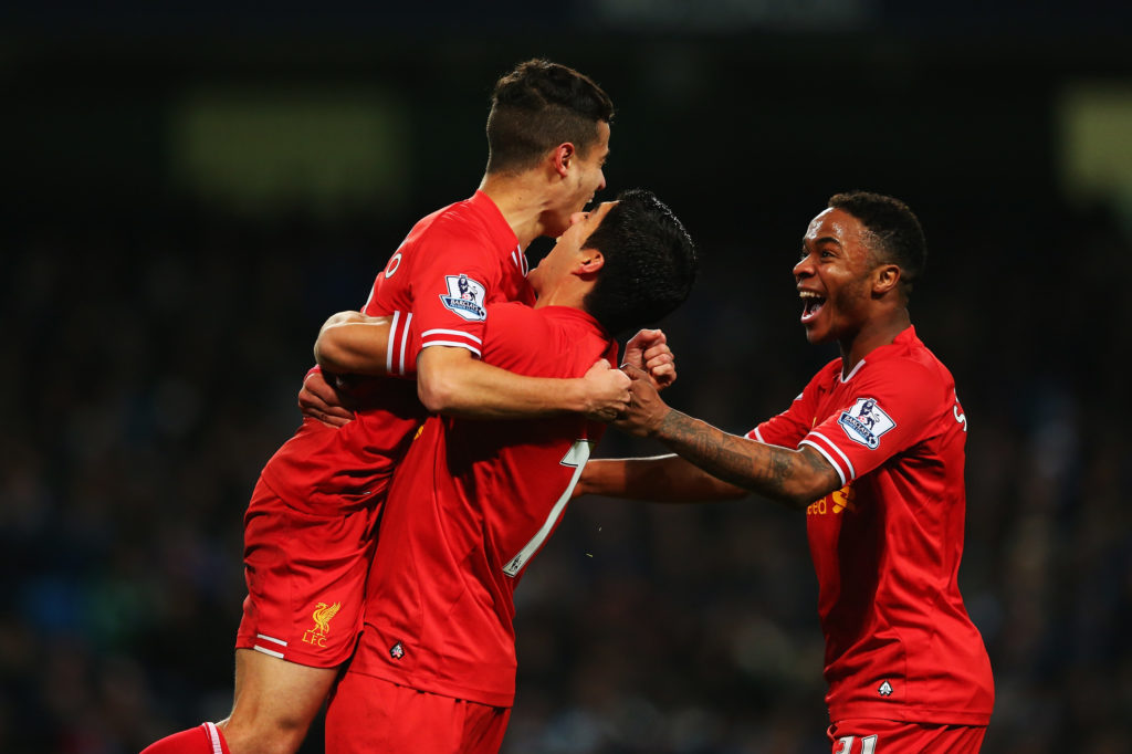 Coutinho, Sterling & Suarez at Liverpool