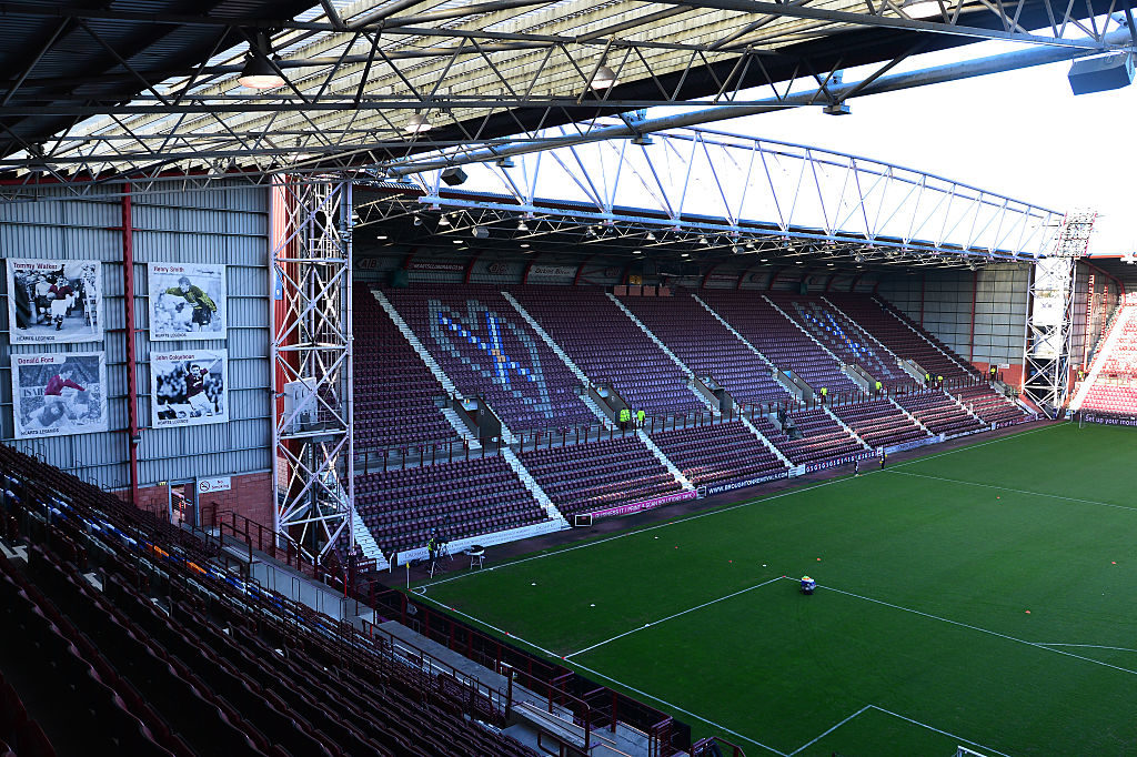 Tynecastle Stadium: The home of Hearts