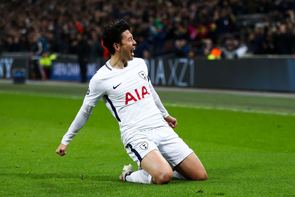 Son Spurs Tottenham