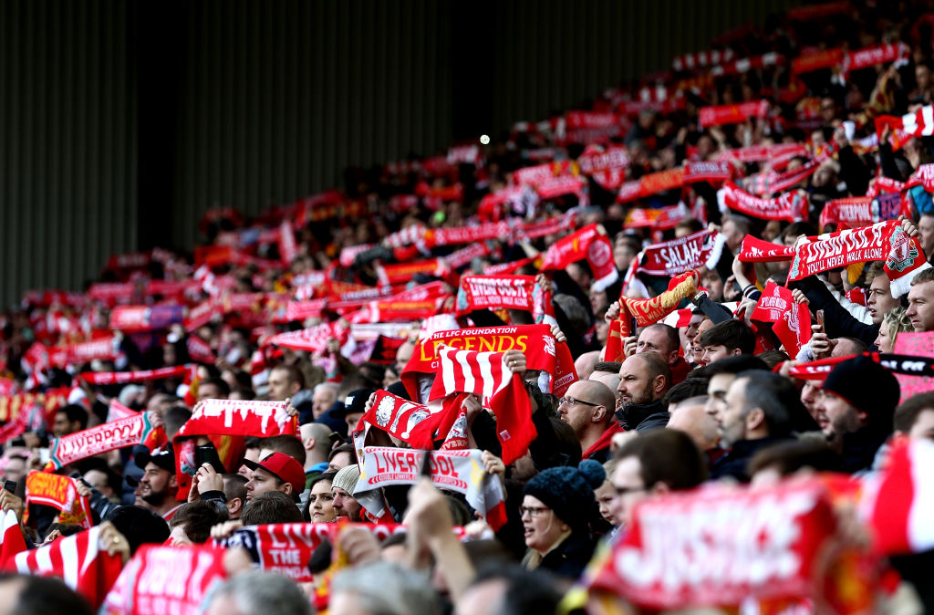 Liverpool fans chanted homophobic songs, Chelsea fans threw coins