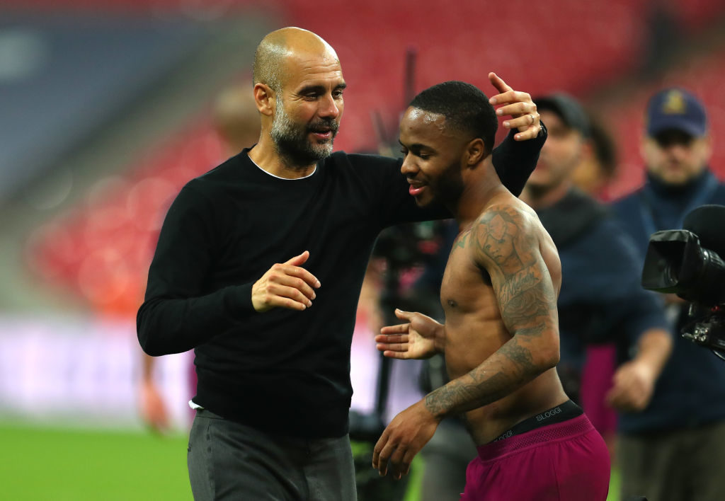 Gareth Southgate expresses his support for Raheem Sterling