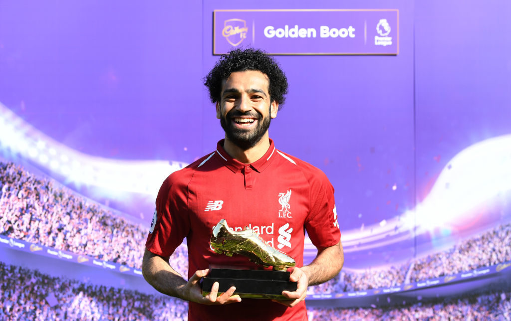 Mohamed Salah Golden Boot