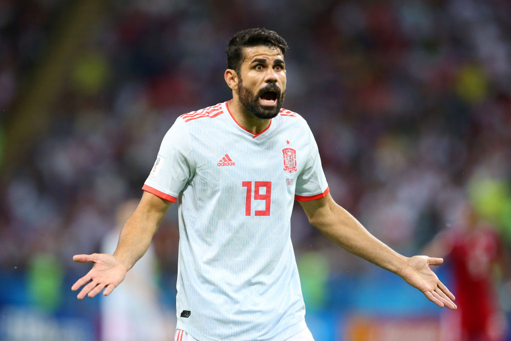 Diego Costa Spain World Cup