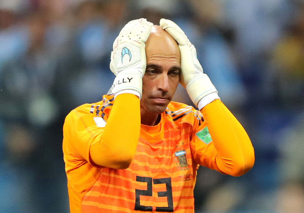 Willy Caballero Argentina World Cup
