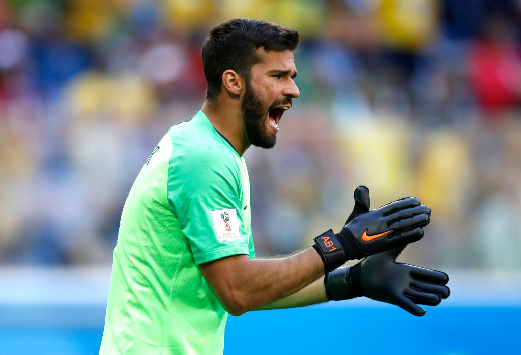 Alisson Becker Brazil World Cup