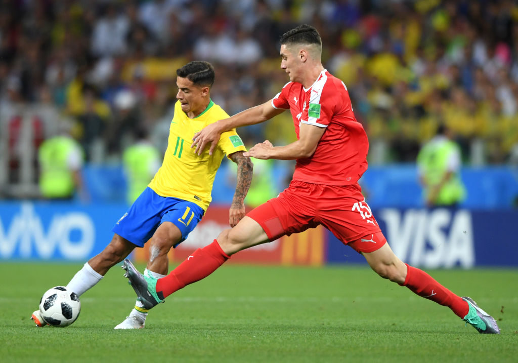 Philippe Coutinho Brazil World Cup