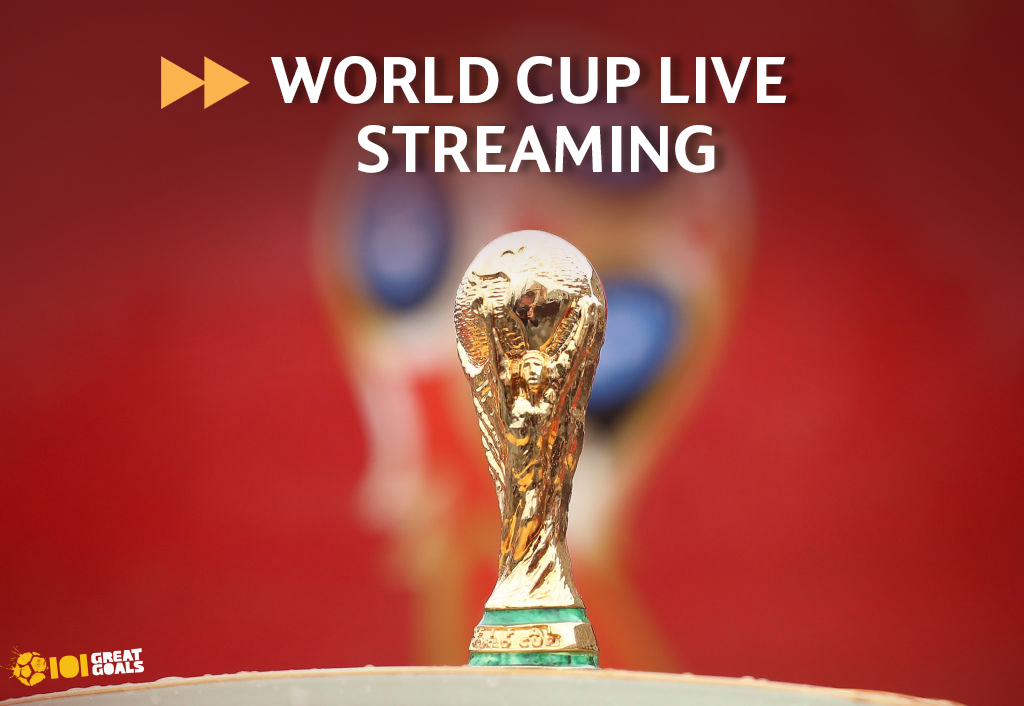 World Cup 2018 live streaming