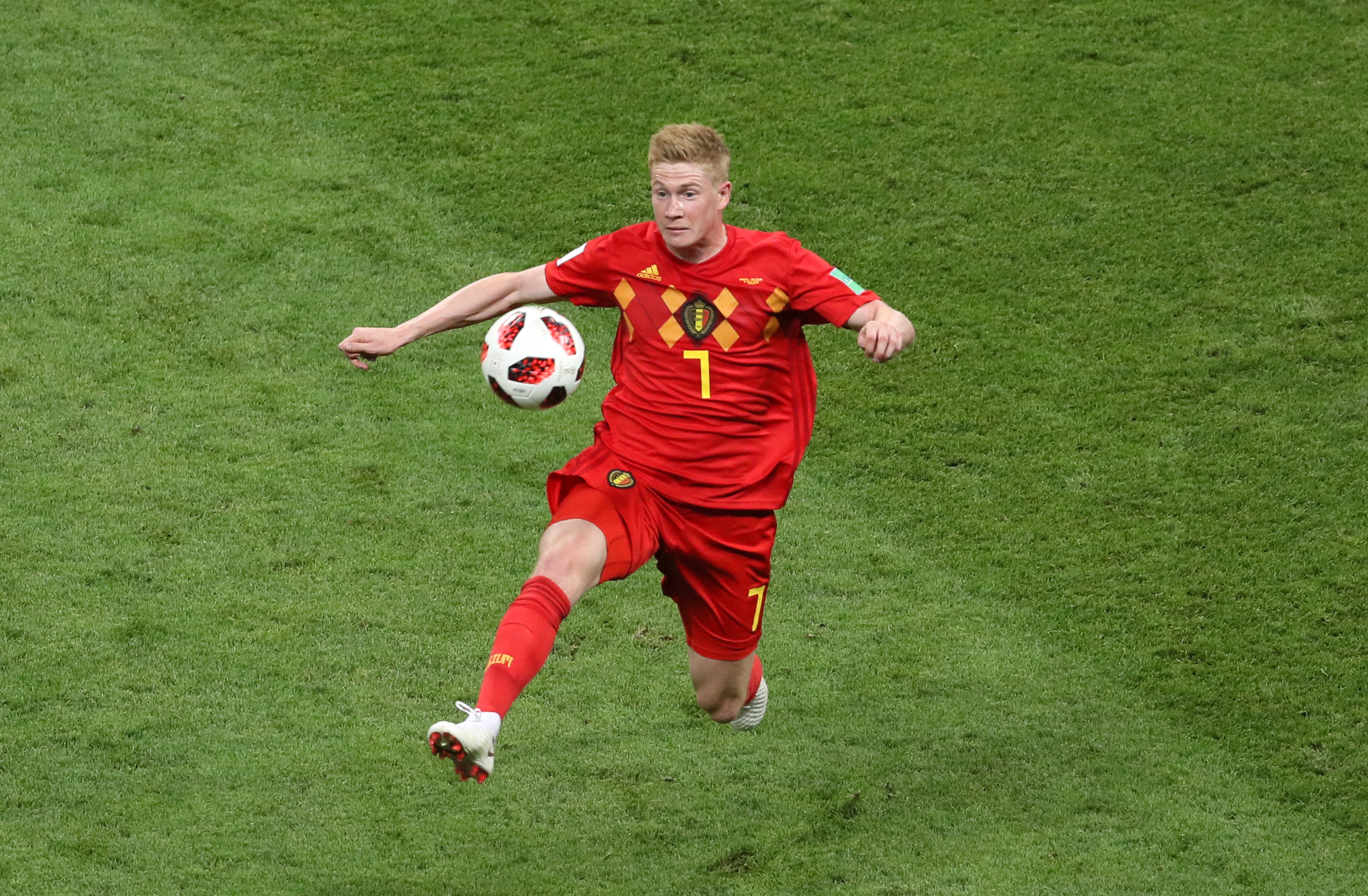 Kevin De Bruyne ruled out of Belgium's Euro2020 opener