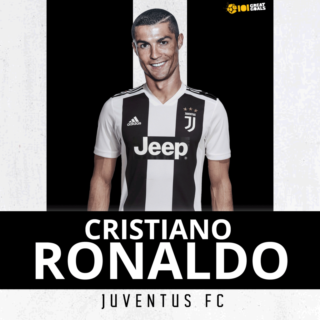 What Cristiano Ronaldo will look like in a Juventus shirt