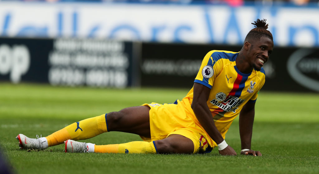 Crystal Palace boss Roy Hodgson issues Wilfried Zaha injury update