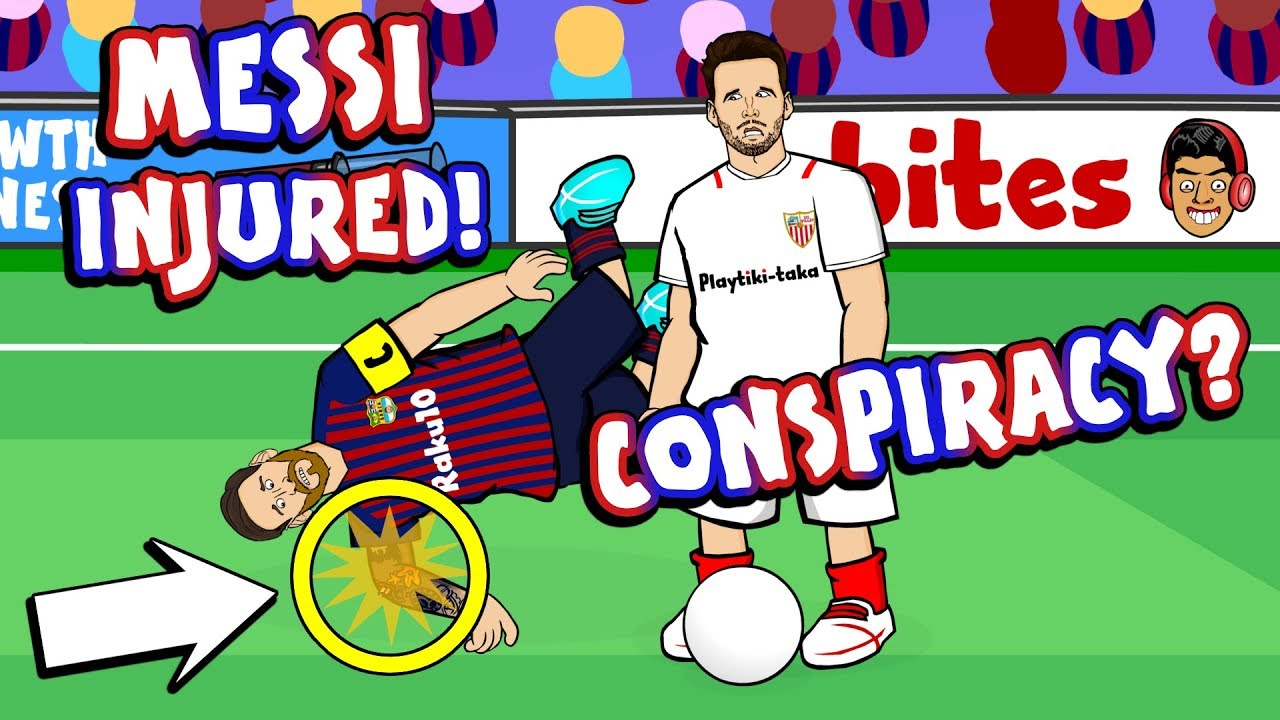 442oons messi injured a conspiracy football soccer greatest