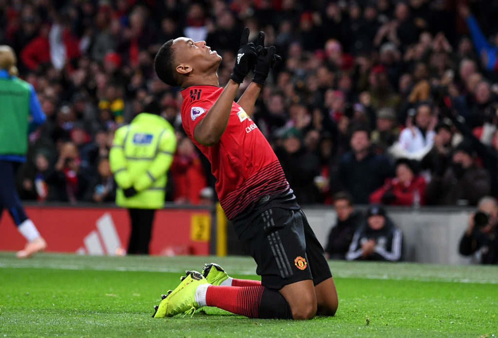 Anthony Martial 'agrees' new deal with Manchester United