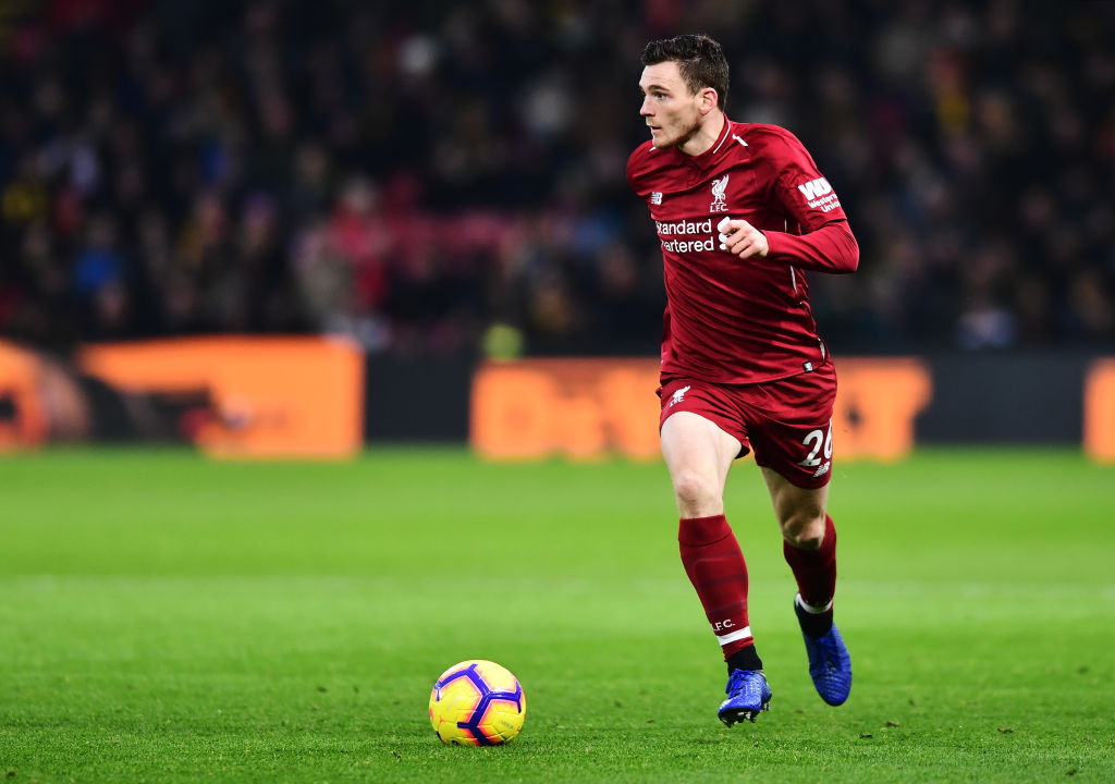 Liverpool blow: Andrew Robertson and Sadio Mane injury updates before Burnley