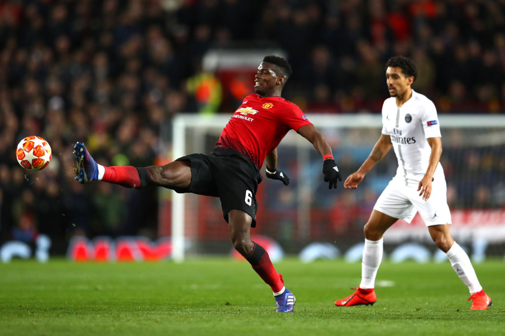 paul pogba slated on twitter following man united s loss to psg. Black Bedroom Furniture Sets. Home Design Ideas