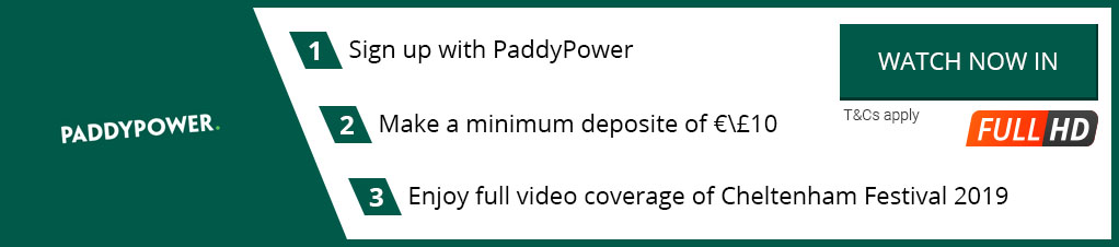 Watch Cheltenham Festival 2019 Live Streaming with Paddy Power