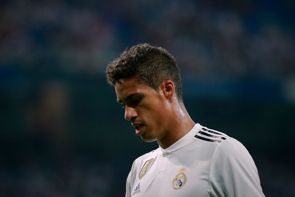 Real Madrid boss Zidane responds to Varane's Man United links