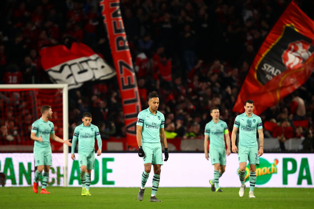 Arsenal Vs Rennes Image: Arsenal Fans Fume After Another Europa League Embarrassment