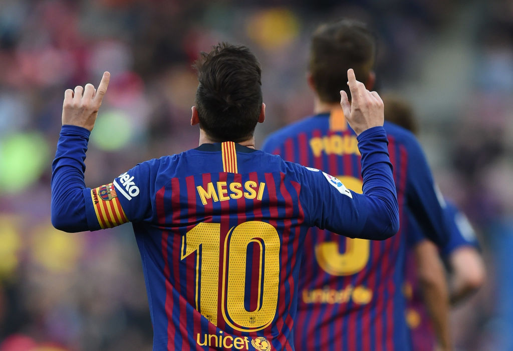 Lionel Messi sets Champions League record in Barcelona's meeting with Ferencvaros - 101 great goals