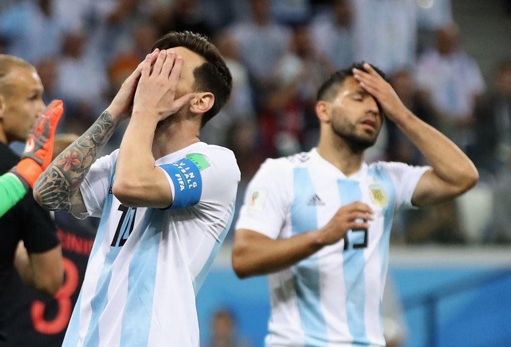 Lionel Messi opens up on Argentina's defeat to Colombia