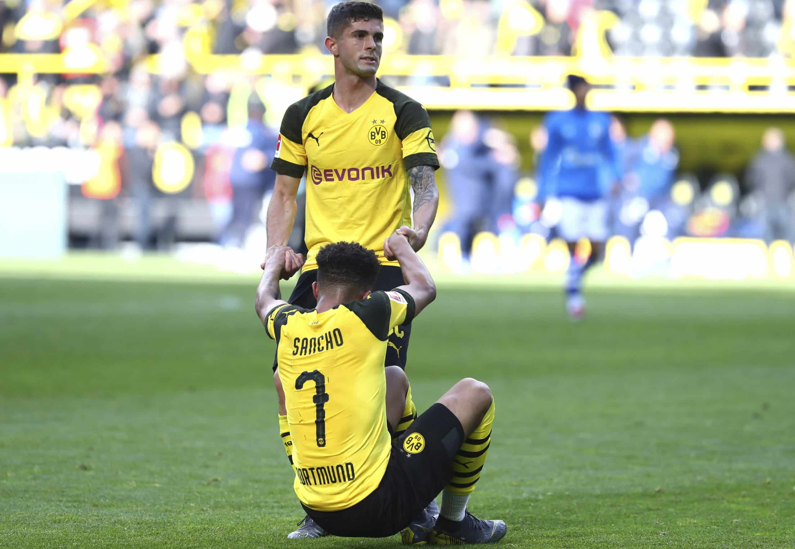Christian Pulisic & Jadon Sancho