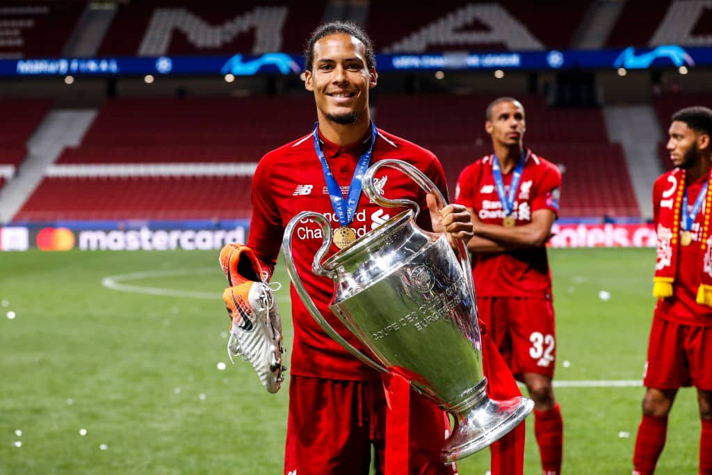 huge selection of 0ca75 b65ef Virgil van Dijk wants to sign a new contract with Liverpool ...