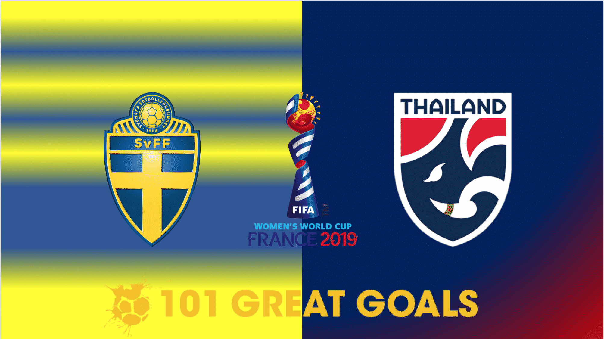 Sweden vs Thailand live streaming