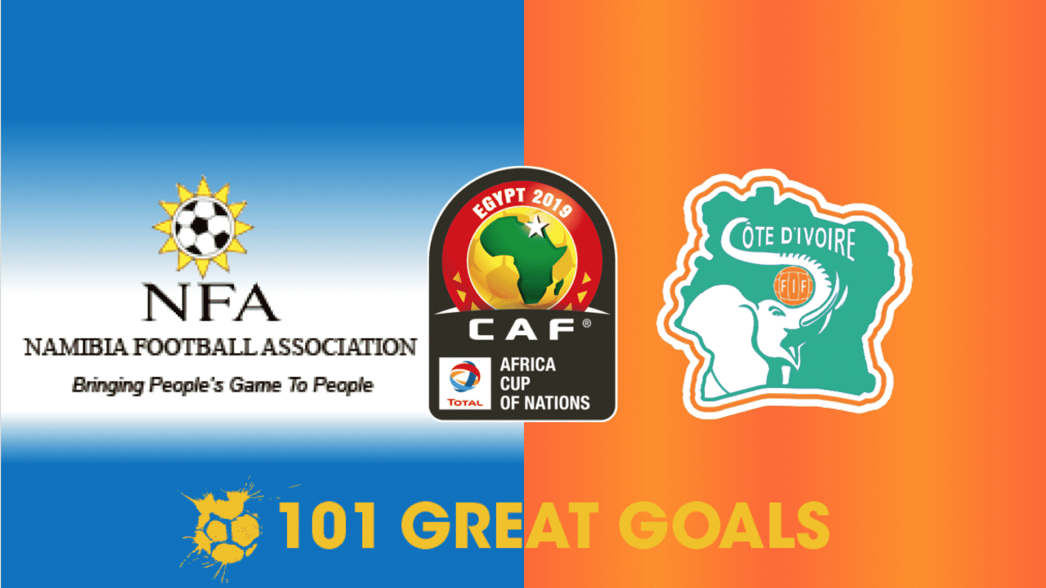 Namibia vs Côte d'Ivoire live streaming