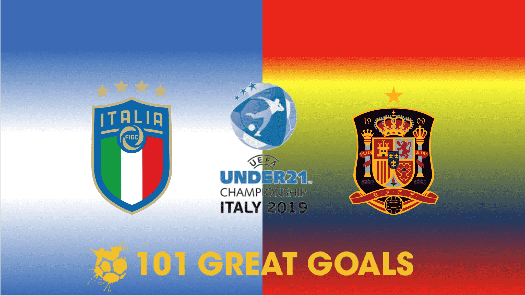 Italy U21 vs Spain U21 live streaming