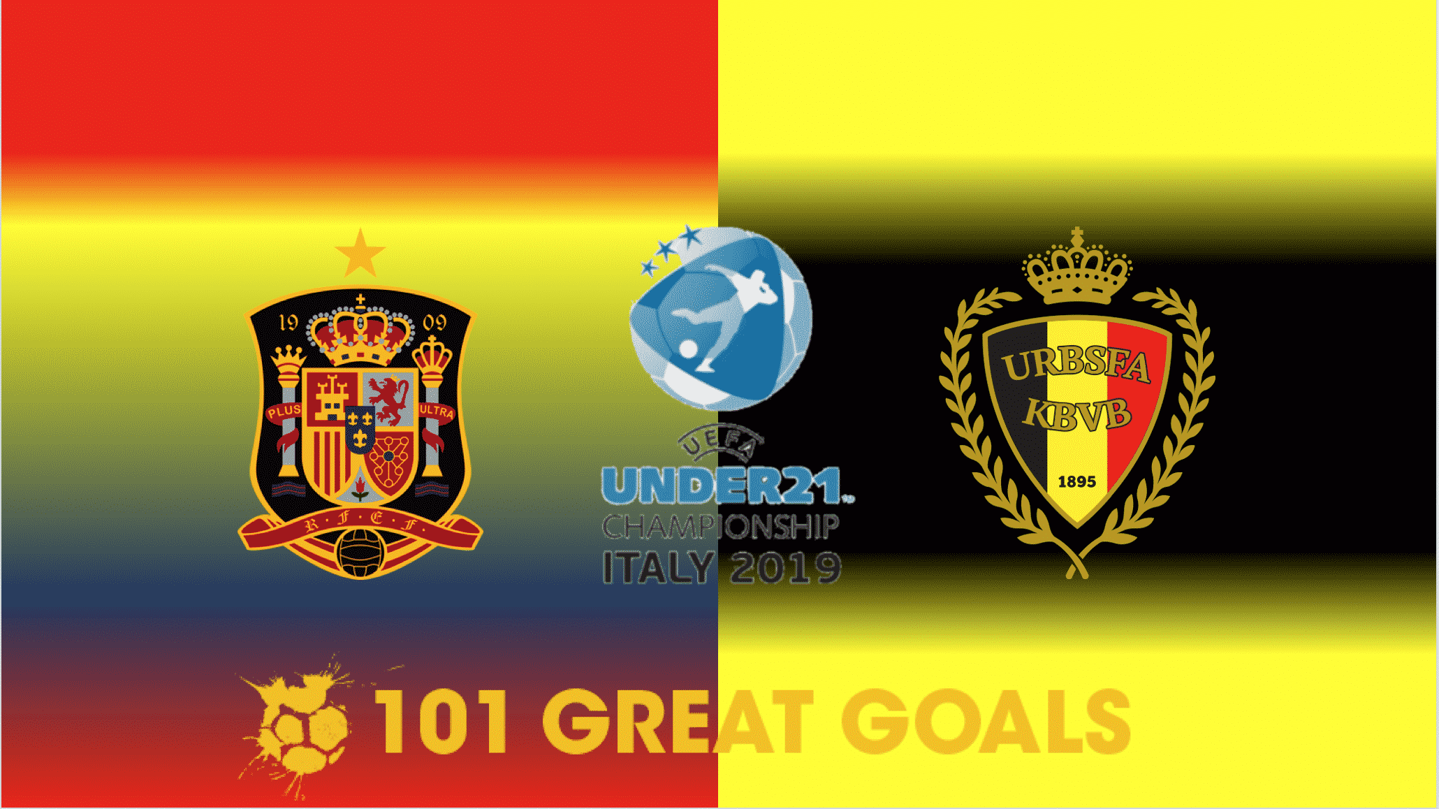 Spain U21 vs Belgium U21 live streaming
