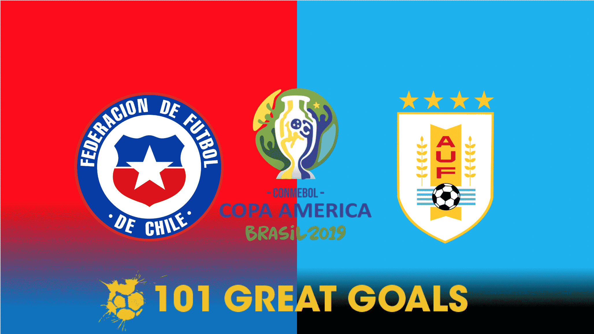 Chile vs Uruguay live streaming
