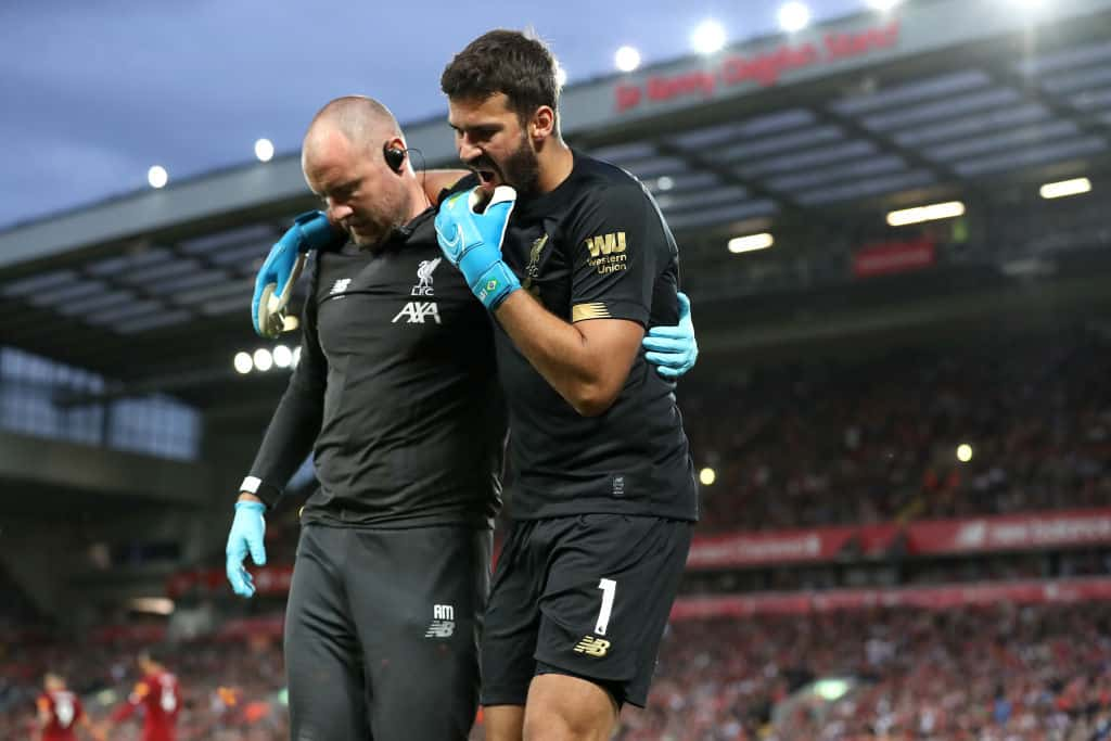 Why Alisson is not part of Liverpool's squad to take on Ajax - 101 great goals