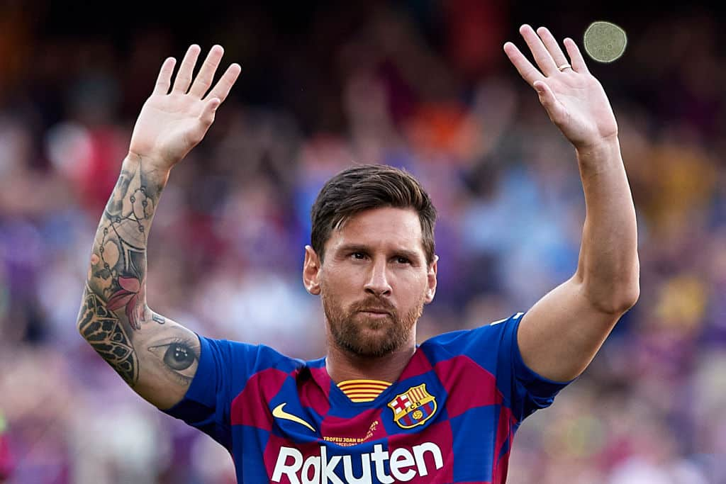 Lionel Messi set another La Liga record during Barcelona's win over Real Valladolid - 101 great goals