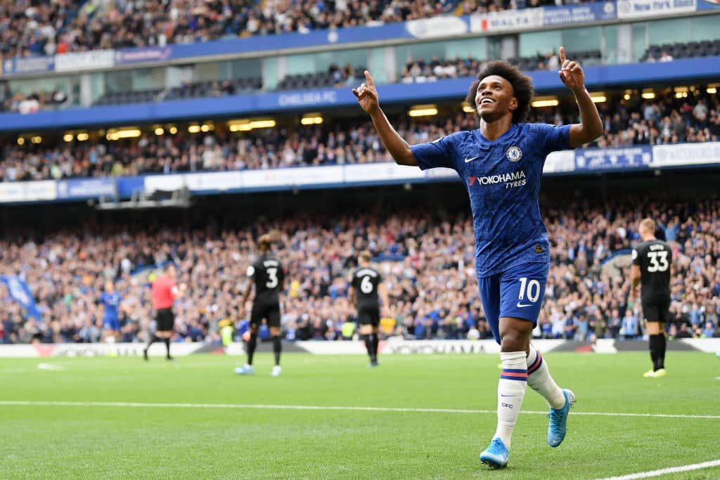 Chelsea winger Willian gives update on contract situation - 101 great goals
