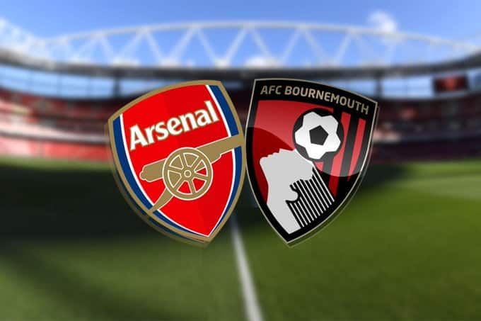 Arsenal vs Bournemouth live streaming promo