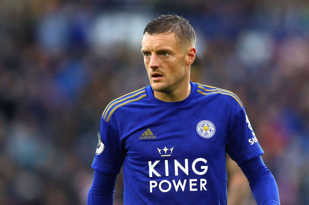 Leicester's Jamie Vardy named PFA Player of the Moth for October