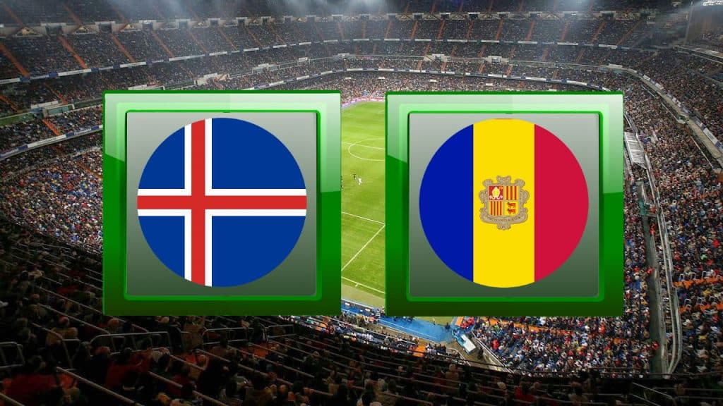 Iceland vs Andorra live streaming promo