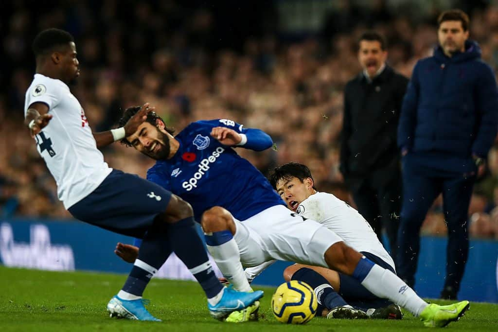 Heung-min Son confirms text exchange with Andre Gomes/Marco Silva suggests Everton star could play again this season