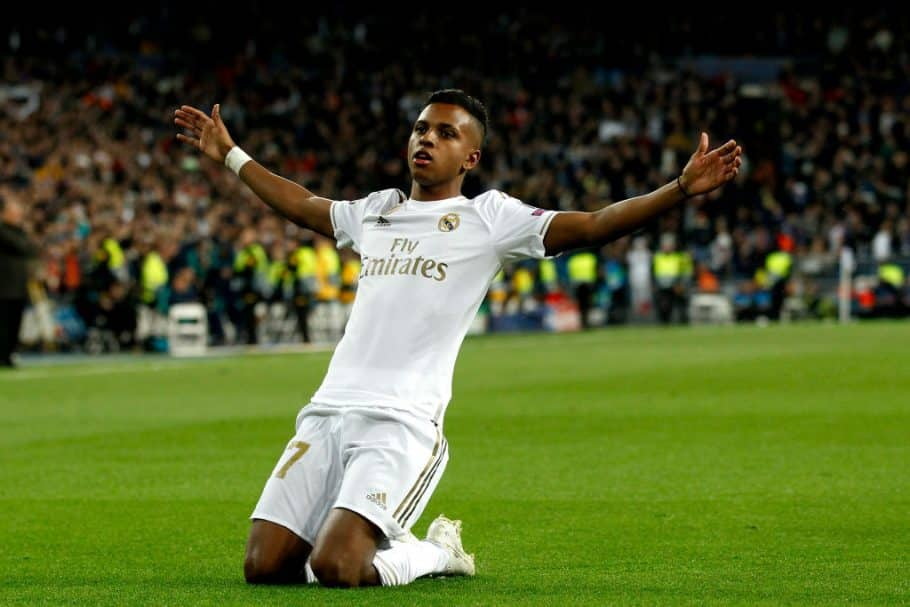Liverpool boss Jurgen Klopp believed to be interested in Real Madrid's Rodrygo