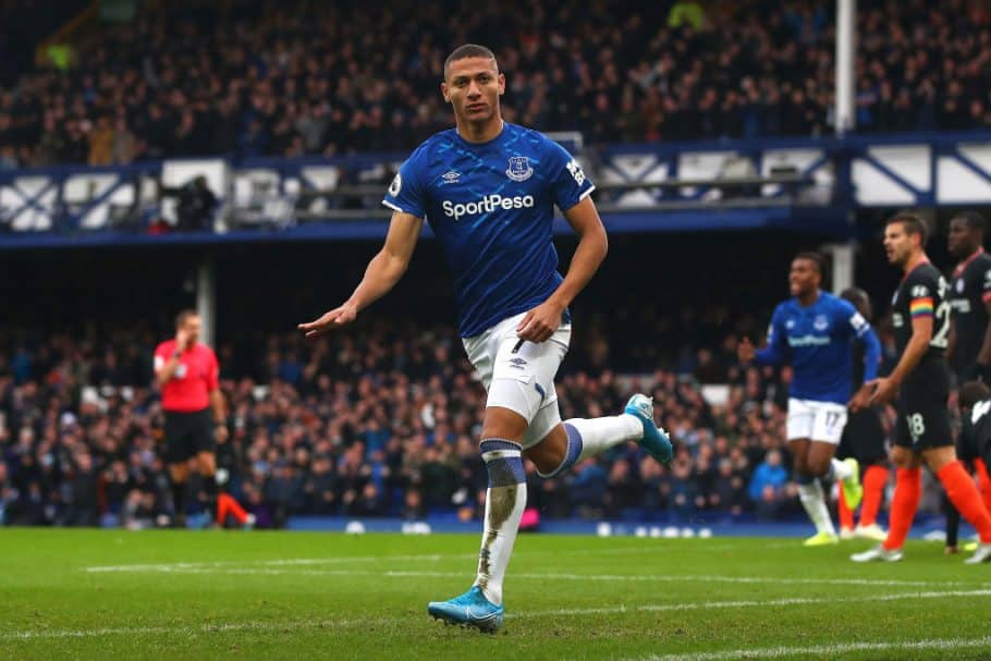 Richarlison & James Rodriguez updates ahead of Everton's meeting with Man City