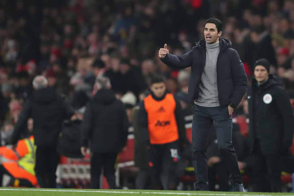 Mikel Arteta admits Arsenal may not sign any players this month - 101 great goals