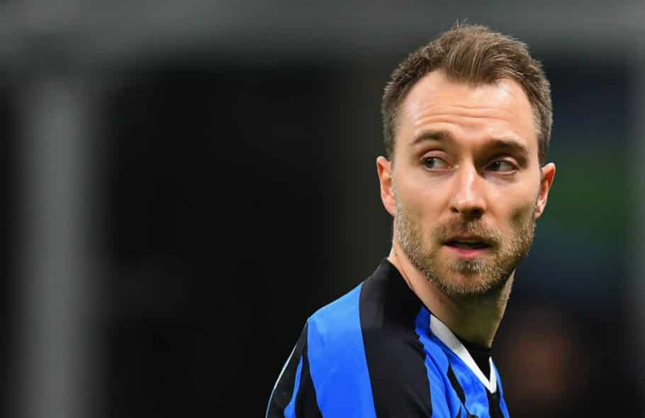 Eriksen tells Danish fans to call Conte and ask him why he is not playing at Inter Milan