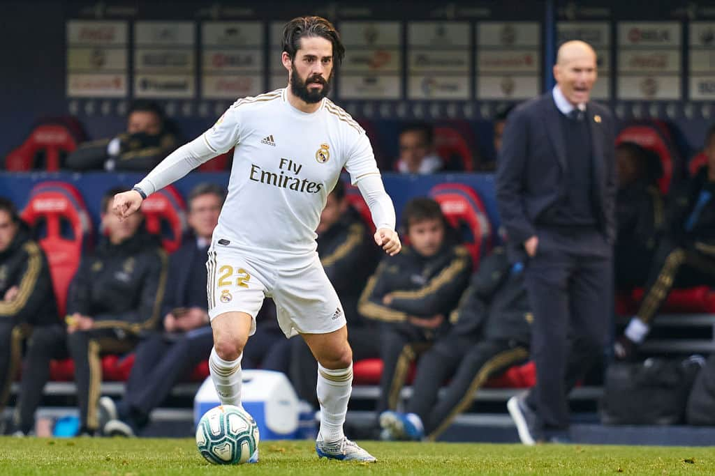 Isco's agent confirms Everton-linked star wants to try other leagues